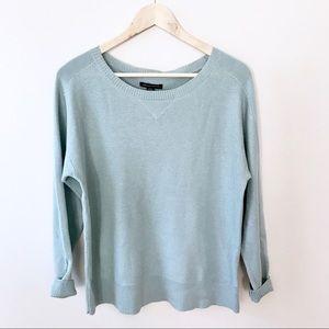 AEO Seafoam Textured Sweater